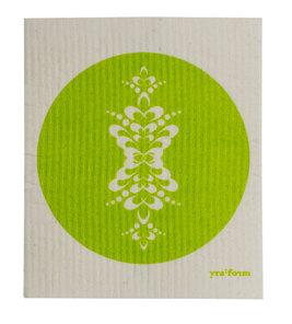 Disktrasa med kurbits - Grön disktrasa