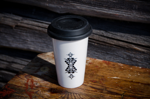 Take Away-mugg med kurbits (REA) - Take Away mugg kurbits