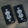 Mobilskal med kurbits (REA) - Mobilskal kurbits svart iPhone 5