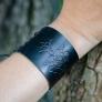 Armband i läder med kurbits (REA)