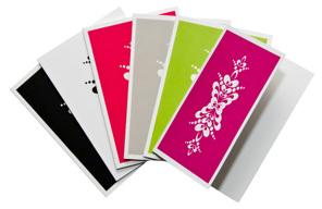 Dubbla kort med kuvert, kurbits - Dubbla kort med kuvert