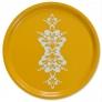 Bricka rund med kurbits (REA) - Rund bricka kurbits 45 cm orange