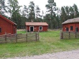 Soldattorpet på plats där är en gång Jönköpings regemente övade