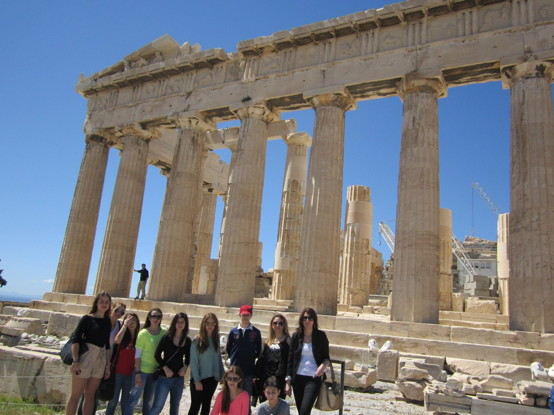 Besök och guidad visning: Parthenon Templet, Akropolis i Aten. Επίσκεψη και ξενάγηση: Παρθενώνας, Ακρόπολη Αθηνών. Visit and guided tour: Parthenon Temple, Acropolis in Athens.