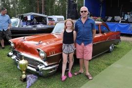"""Vinnare Domarnas val - Tommie """"Trocca"""" Larsson, Sundsbruk - Chevrolet 210 -57"""