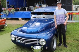 Vinnare Ten outstanding - Arvid Hultin, Ånge - Volvo EPA -67