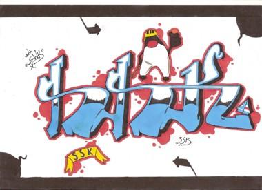 """""""SSK Graffiti"""" av Tim Jangdal"""