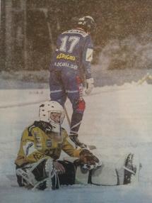 Foto på foto från Sundsvalls Tidning.