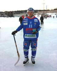 Garba var näst snabbast förra året endast slagen av Sundsvall skridskoklubbs Kevin Mercanton. Foto: Jonas Rönnqvist