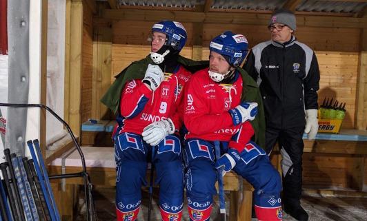 Fredde Wilsson och Micke G. Foto: Röntgen