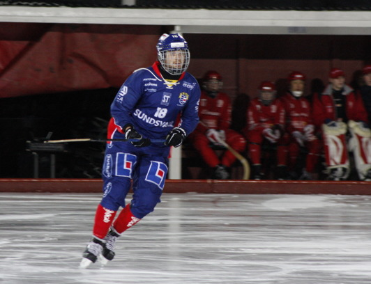 Nr 18 K. Högberg. Foto: Alexandra Eriksson