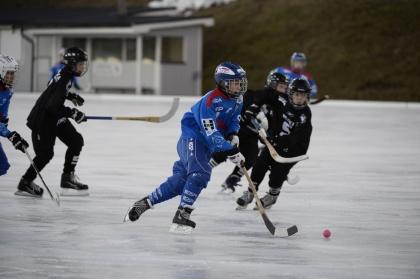 Johan Pantzar har öst in mål i Norra Norrlands P-13 serie i år.