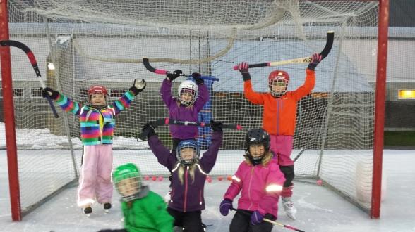 Här är tjejerna som var med på det historiska första ispasset!