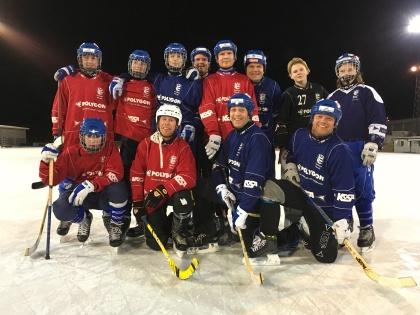 Övre: Lukas Gustavsson, Jocke Johansson, Viktor Eriksson, Simon Hansson, Jens Jonsson, Mats Pantzar (tränare), Olle Sandin, Denniz Lorge. Nedre: Markus Holdo, Håkan Persson, Peter Norberg, Fredrik Han