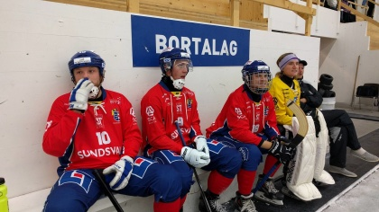 Micke Gustavsson, Fredrik Wilsson, Kalle Högberg, Muggen Wilsson och Simon Hansson. Foto: Jonas Rönnqvist
