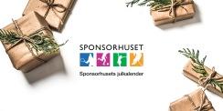 Länk till julkalendern på Sponsorhuset