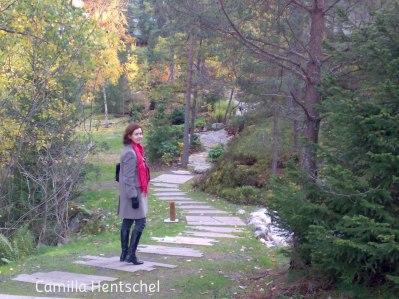 Yasuragis vackra trädgård