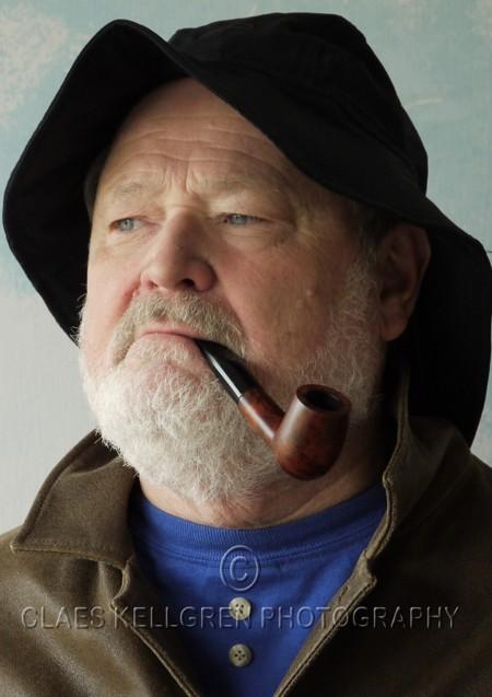 Claes Kellgren, självporträtt 2011