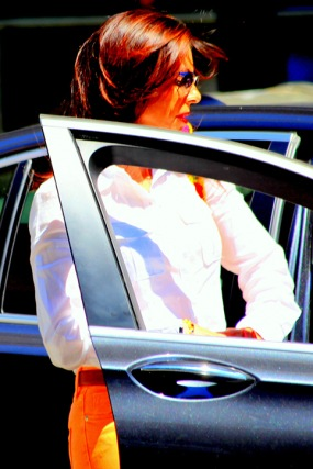 "Fotokonst  / Fototavla - New York - ""PASSENGER SEAT""                         (Format 2x3)"