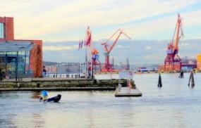 """Fotokonst / Konstfoto / Fotografisk konst / konstfotografi / Fototavla - Göteborg - """"LILLA BOMMEN #2"""" (Format 3x2)"""