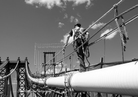 "Foto: Claes Kellgren - New York - ""MANHATTAN BRIDGE #2"""