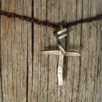 Unikt kors i silver