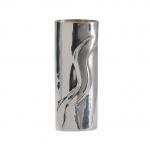 2) Vas i silver använt min hemgjorda snarr.
