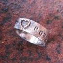 5 Namnsmycke ring