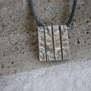 hängsmycke oxiderat silver