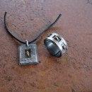 smycken oxiderat silver/guld