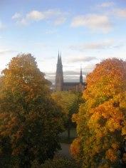Uppsala Domkyrka. Foto Per Hjort