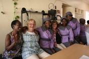 På besök i Victoria Falls, en luthersk församling som ligger i det västra stiftet i Zimbabwe