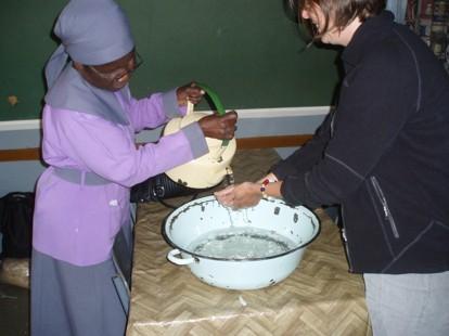 Handtvätt före maten