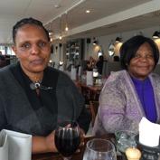 Constance och Odhalayo besökte Sverige i maj 2017