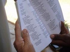 Psalmsång på främmande språk
