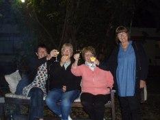 En uppfriskand fruktdrink vid ankomsten till Pamusha Lodge