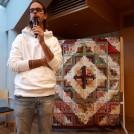 Nicklas Fahlgren berättade om ett projekt i Latin-Amerika