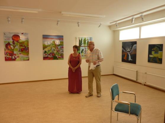 Utställning i Boden
