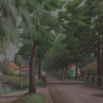 Bruksgatan av Edvin Axelsson