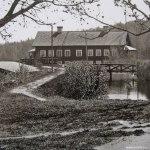 Slottet & kanalbank tidigt1900tal
