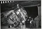 Lastbilsolycka vid viadukten på 70 talet