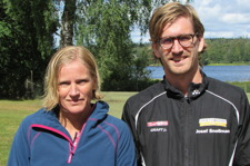 Åsa Höög & Josef Snellman vinnare 14km
