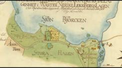 """Karta 1763 på """"Nedre Bruket"""""""