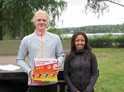 Vinnare 5,5 km  Joakim Strömberg & Cecillia Westerlund