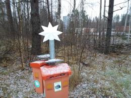Julstämning från batteriboxen