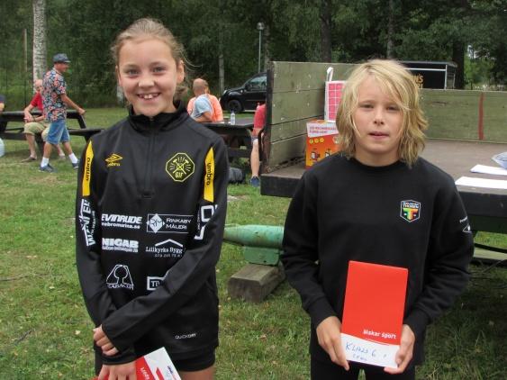 Snabbast i barnklassen var Elin Freed Glanshammar & Folke Eriksson Thorengruppen TFC Örebro