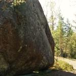 Liten sten i kläm