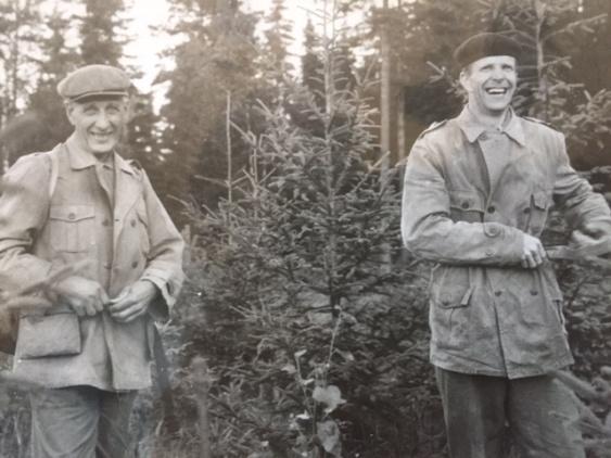 Allan Andersson  och Ivar Söderberg