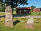 Minnesstenarna Kvistbro kyrkogård 20190718