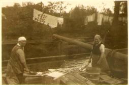 Tvättstuga Svartå från början på 1900 talet